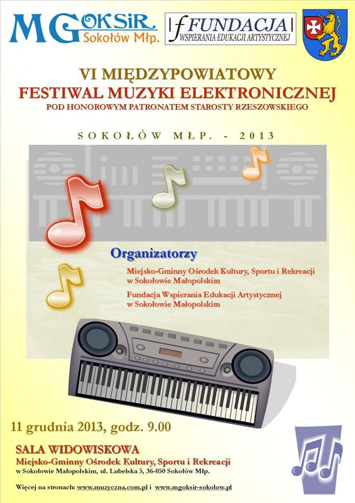 VI Międzypowiatowy Festiwal Muzyki Elektronicznej