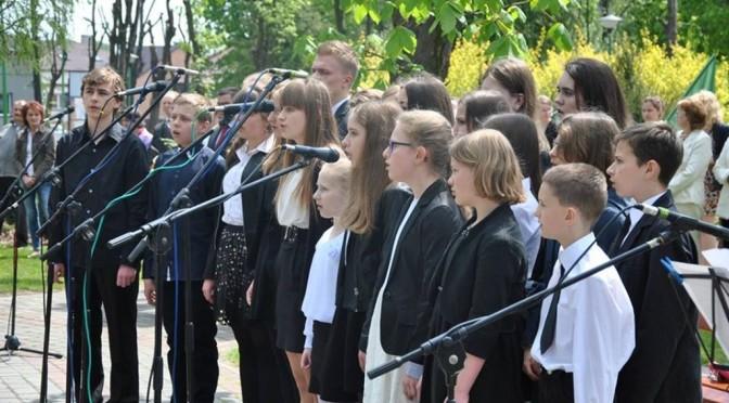 Uroczystości 3-go Maja w Sokołowie Małopolskim