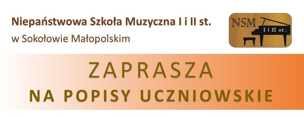Zaproszenie na popisy w Sokołowie Małopolskim