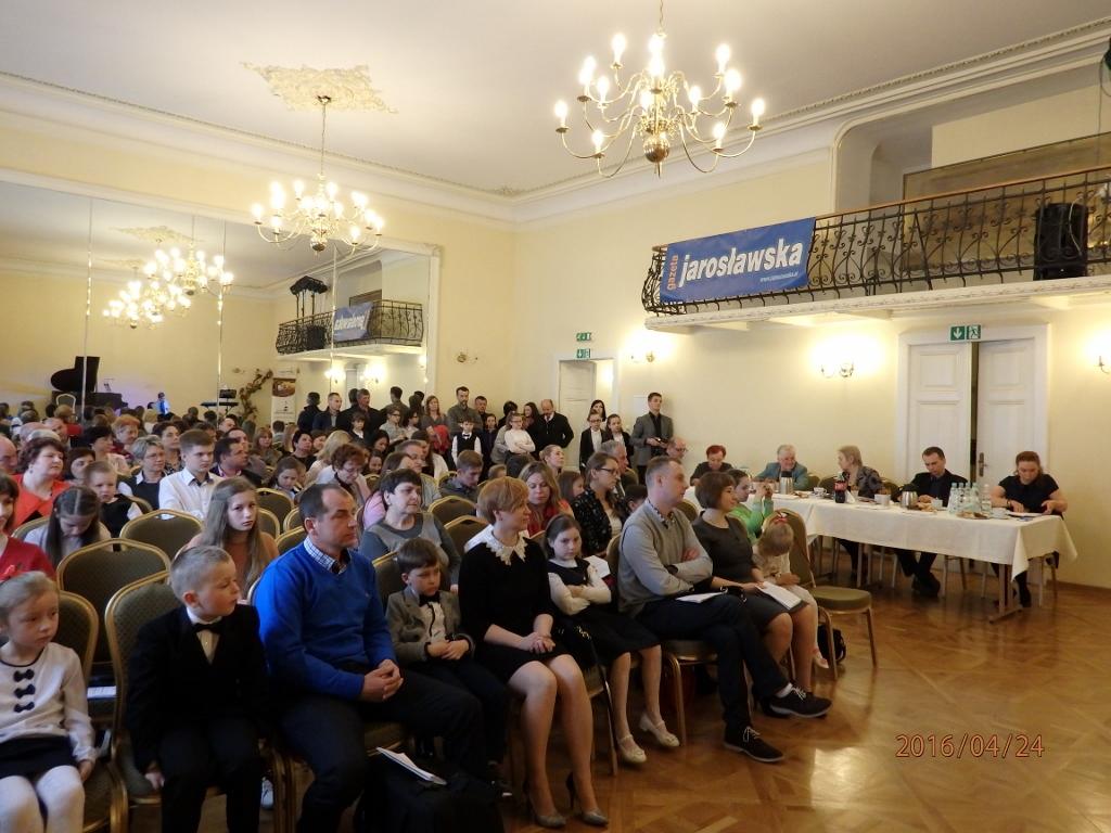 Sprawozdanie z VI Przeglądu Szkół Muzycznych w Jarosławiu