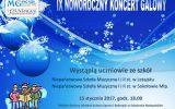 Zaproszenie na IX Noworoczny Koncert Galowy