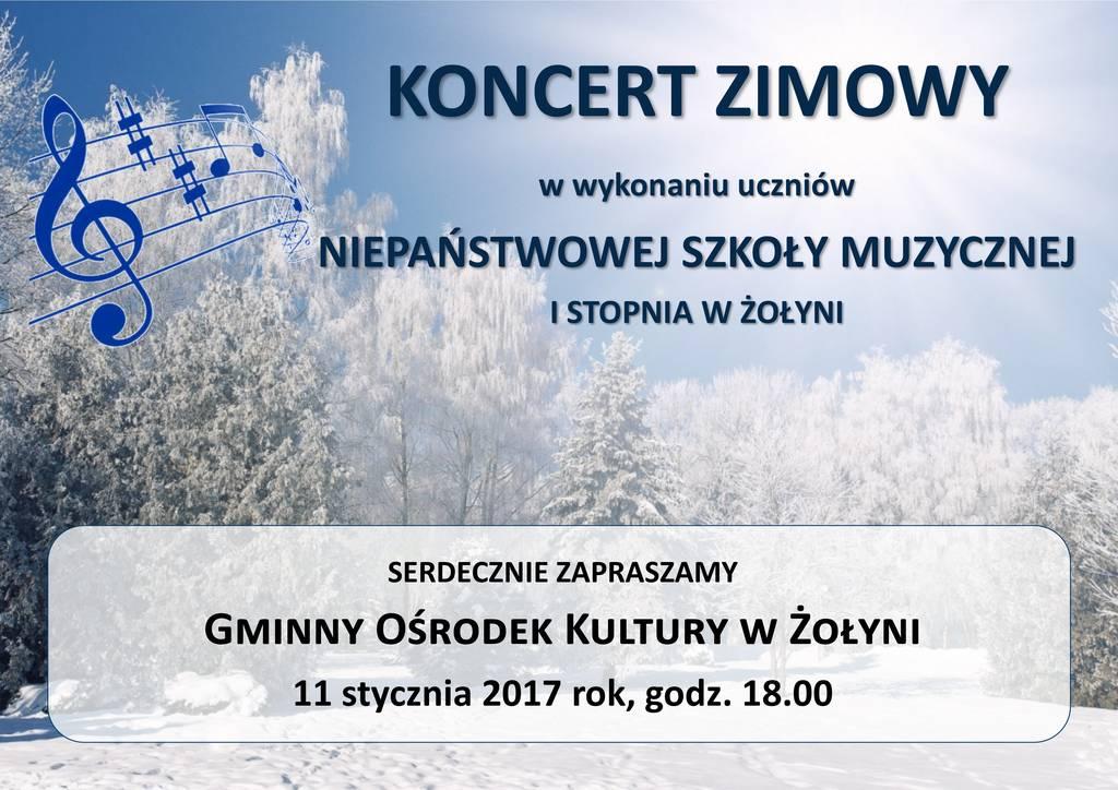 Koncert Zimowy w Żołyni