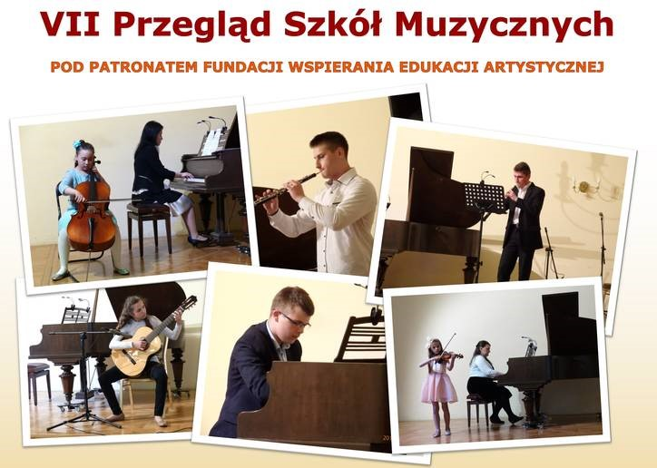Zapraszamy na VII Przegląd Szkół Muzycznych w Jarosławiu