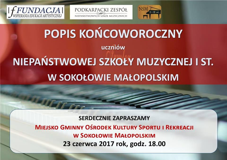 Popis Końcoworoczny w Sokołowie Małopolskim