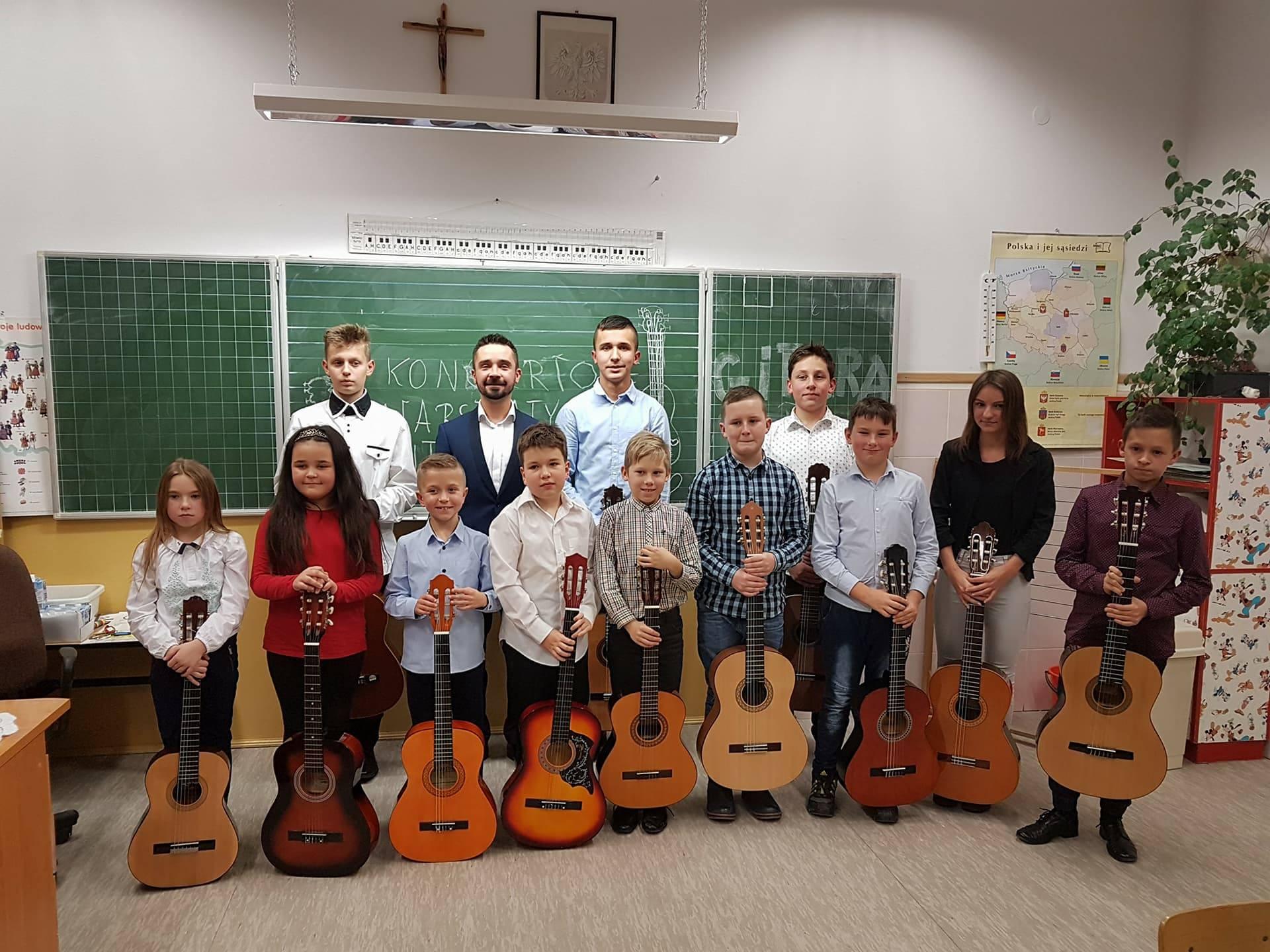 Koncertowe Warsztaty Gitarowe w Sokołowie Małopolskim