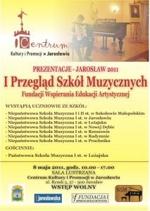 I Przegląd Szkół Muzycznych - Jarosław 2011