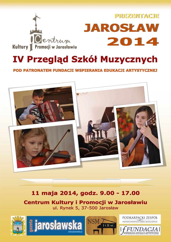 Przegląd szkół muzycznych - Jarosław 2014