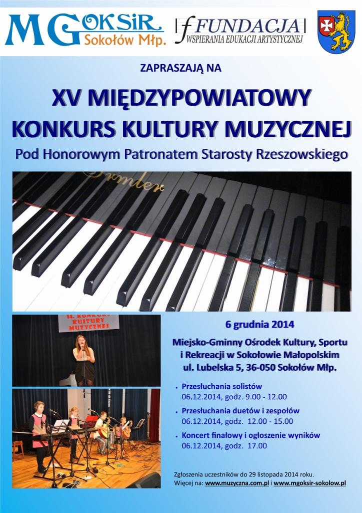 XV Konkurs Kultury Muzycznej