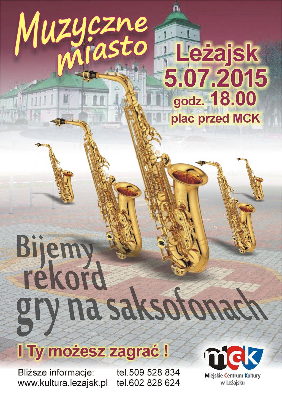 Saksofony