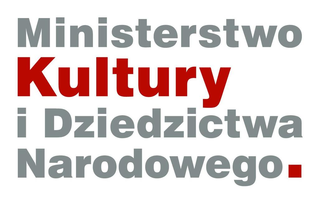 Wyposażenie zakupione z dotacji Ministerstwa Kultury i Dziedzictwa Narodowego