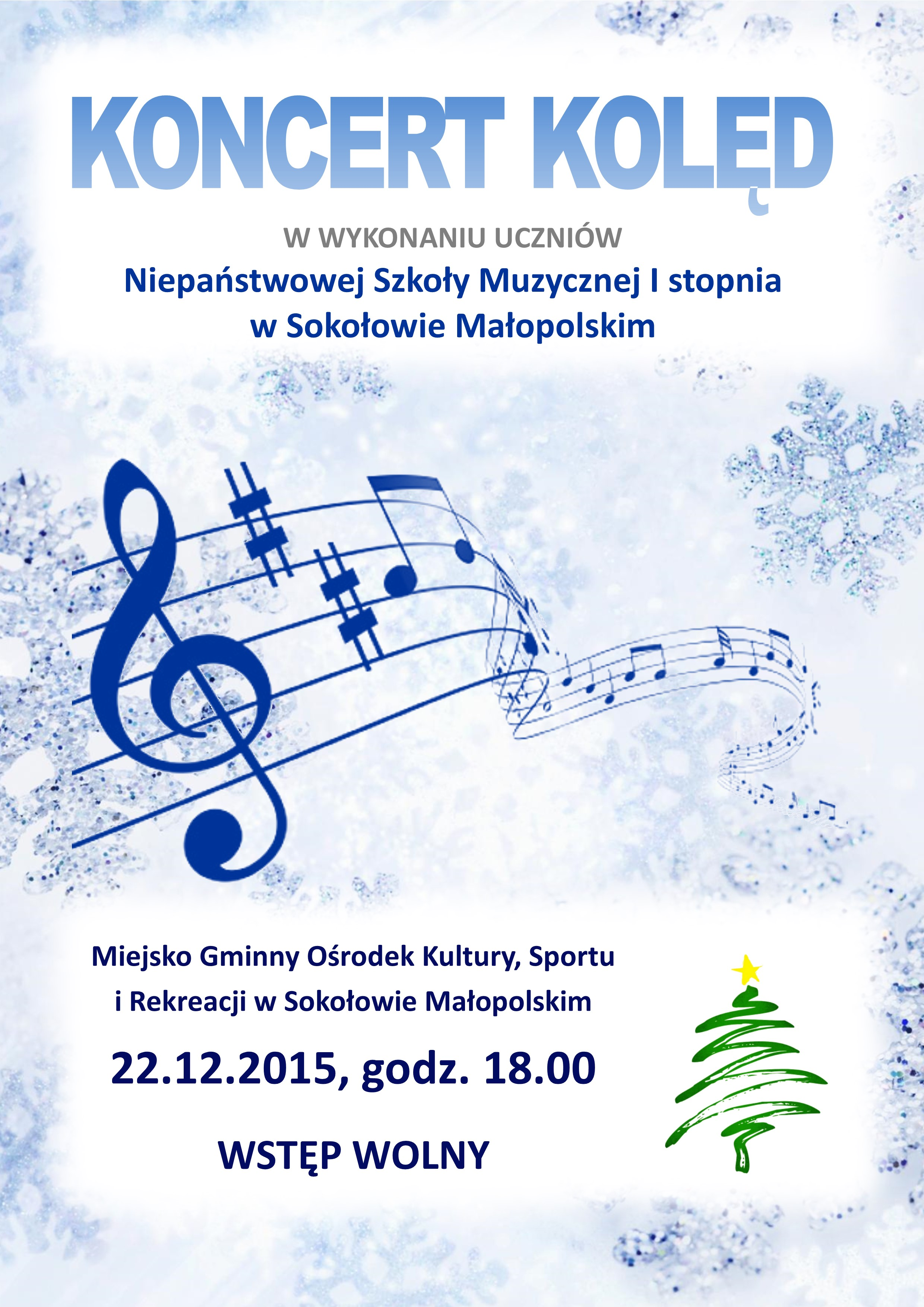 koncert kolęd - NSM Sokołów Młp