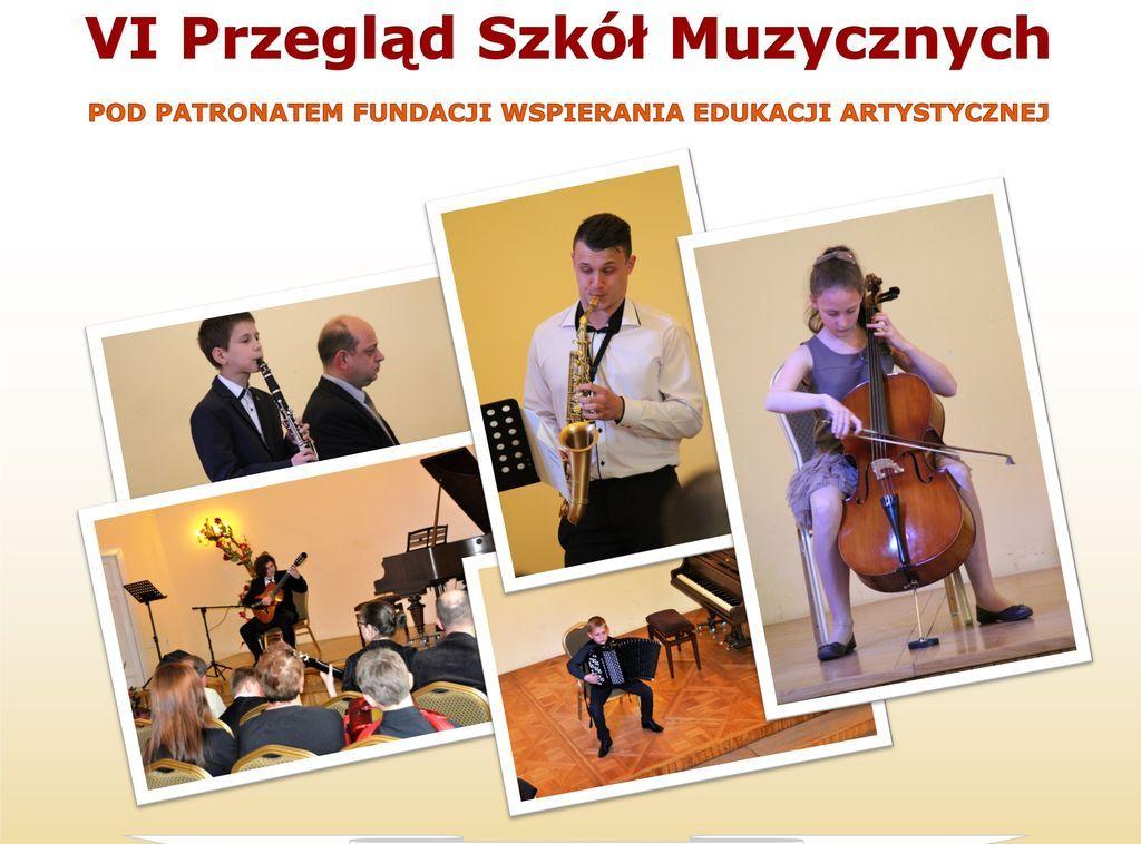 Zapraszamy na VI Przegląd Szkół Muzycznych w Jarosławiu