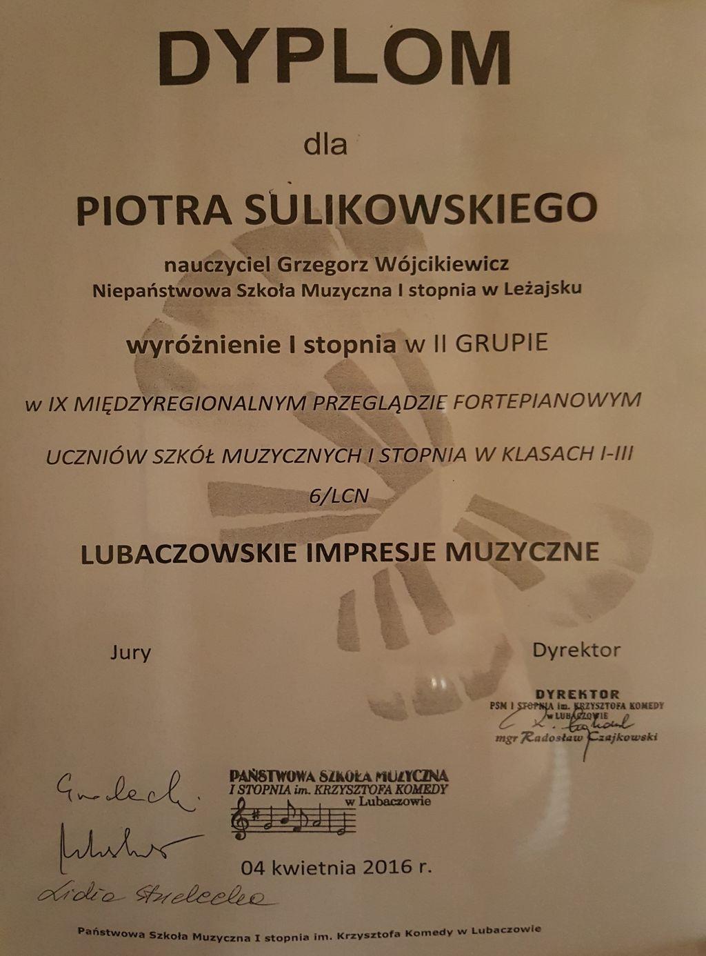 Piotr Sulikowski