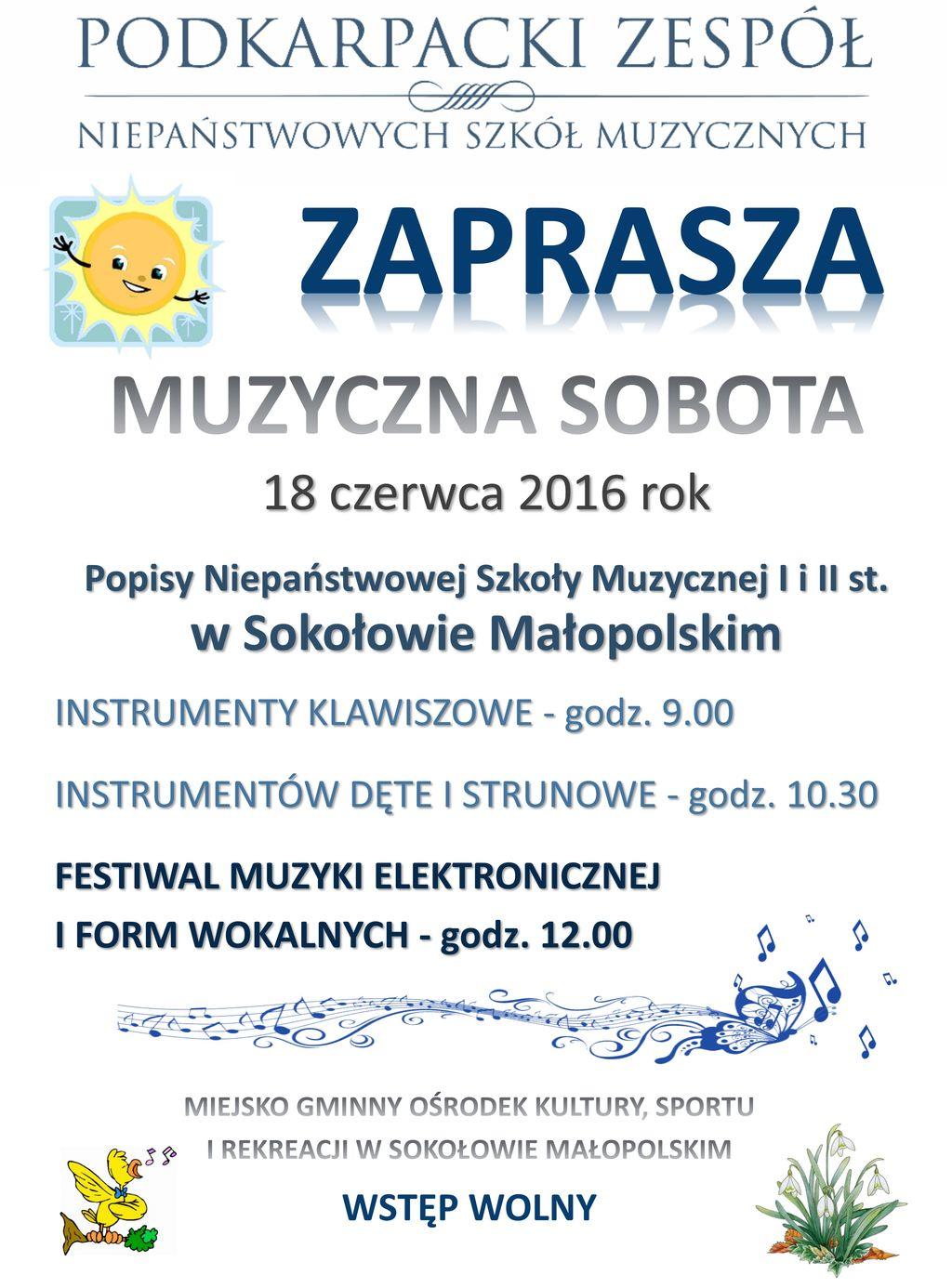 2016-06-18 Muzyczna sobota