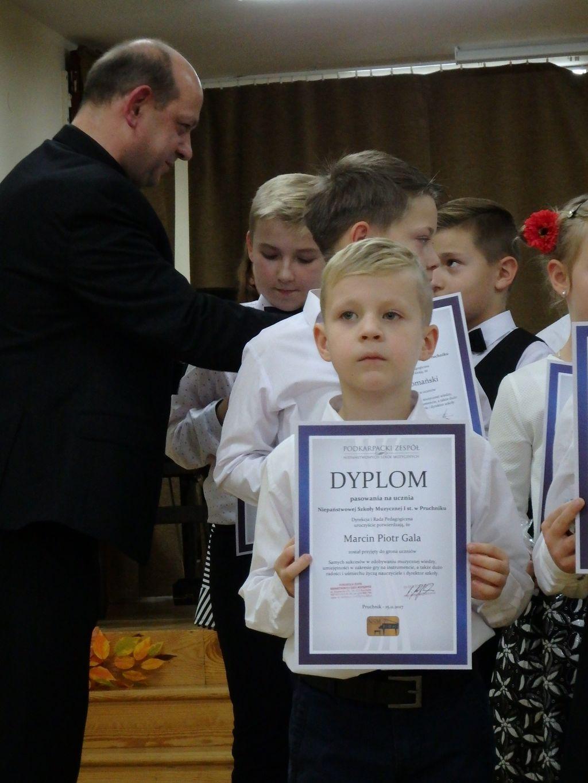 Pasowanie na ucznia w Pruchniku