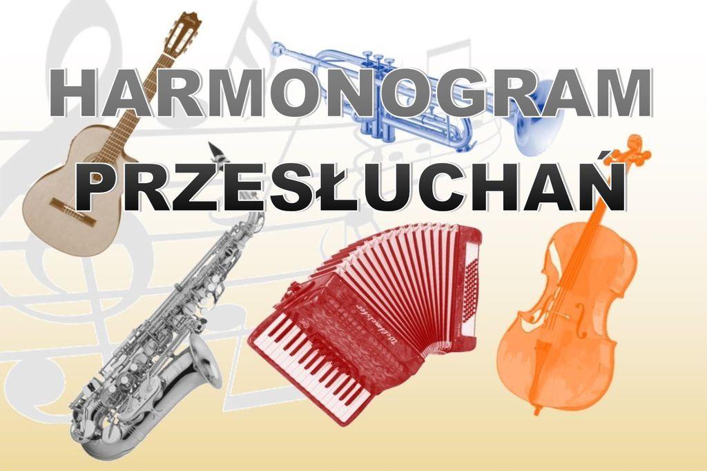 Harmonogram VIII Przeglądu Szkół Muzycznych w Pruchniku – 14.05.2018
