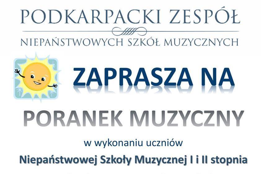 Zapraszamy na Poranek Muzyczny w Sokołowie Małopolskim