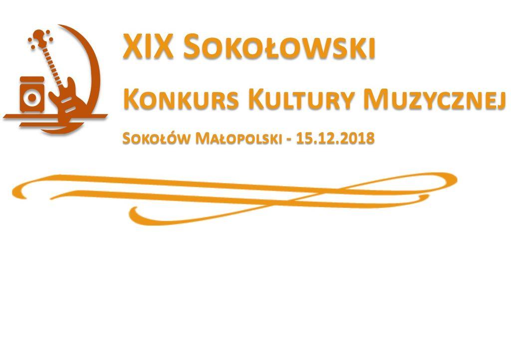 Zapraszamy na XIX Sokołowski Konkurs Kultury Muzycznej