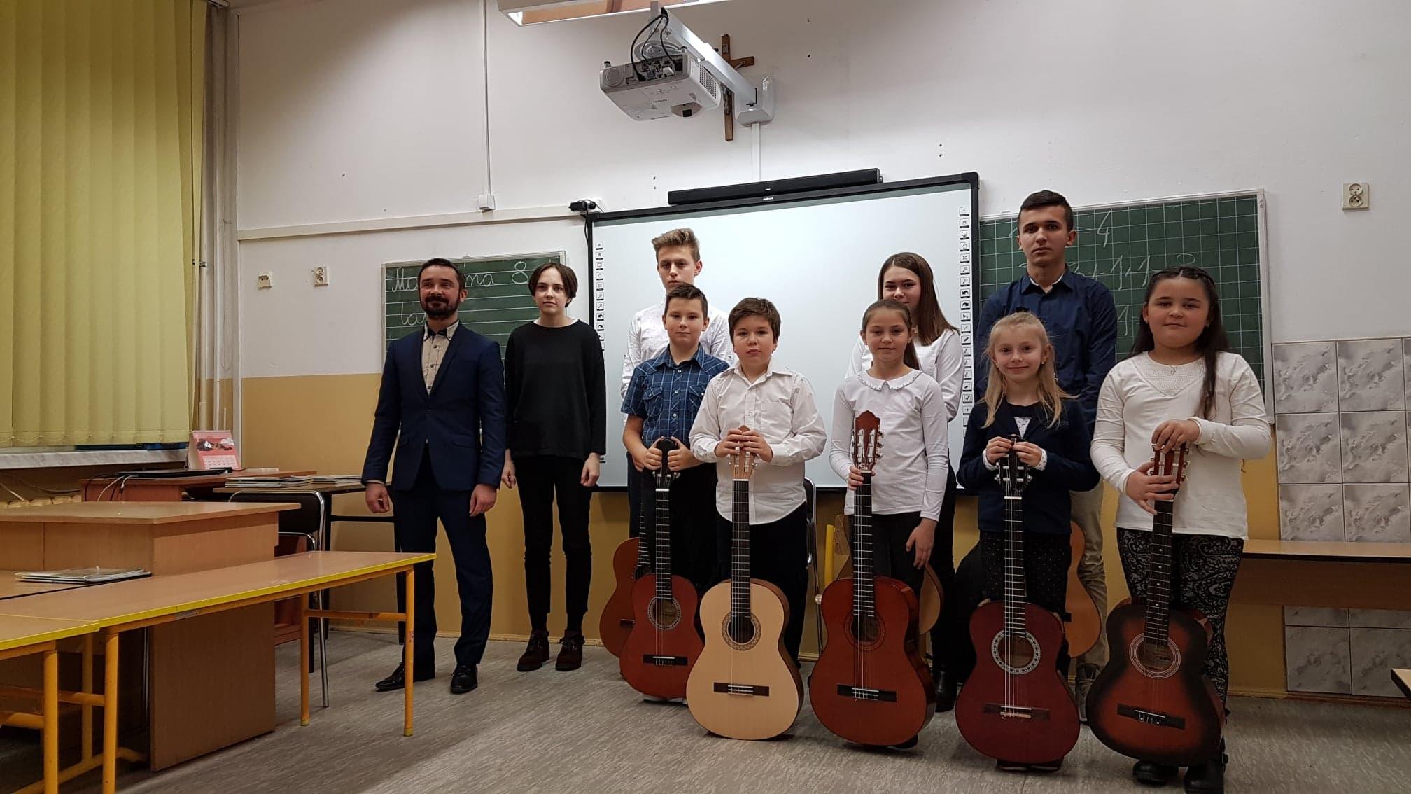 Fotorelacja z Audycji klasy gitary Krzysztofa Przybyło
