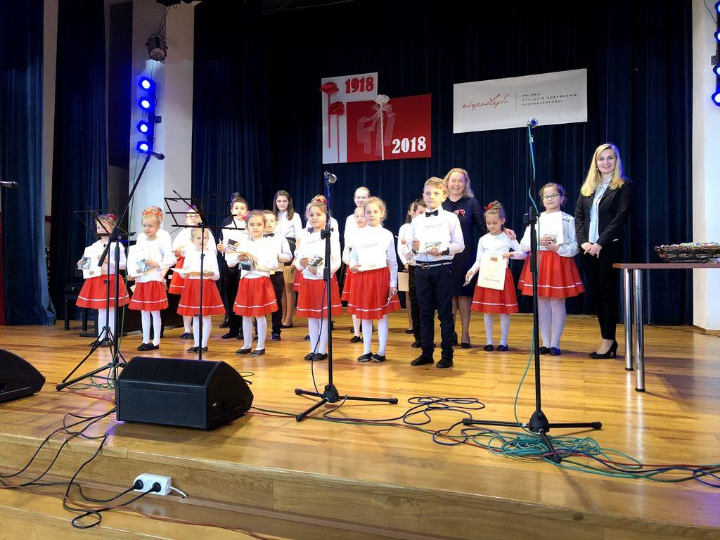 Poranek Muzyczny Dla Niepodległej w Sokołowie Małopolskim – 17.11.2018