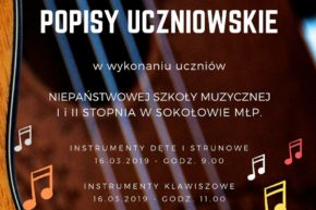 Zapraszamy na popisy uczniowskie w Sokołowie Małopolskim