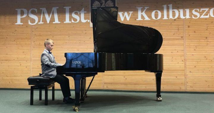 Sukces Piotra Sulikowskiego na ogólnopolskim konkursie w Kolbuszowej