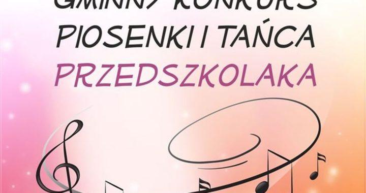 Gminny Konkurs Piosenki i Tańca Przedszkolaka w Sokołowie Małopolskim