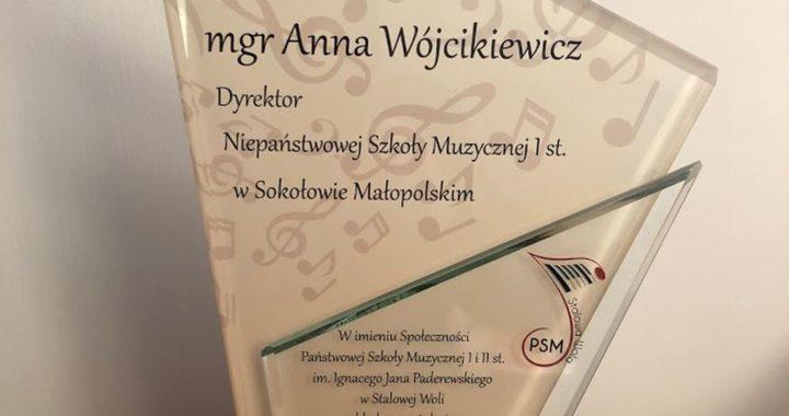 Gratulacje i Dyplomy z okazji Jubileuszu XXV-lecia Niepaństwowej Szkoły Muzycznej I st. w Sokołowie Małopolskim