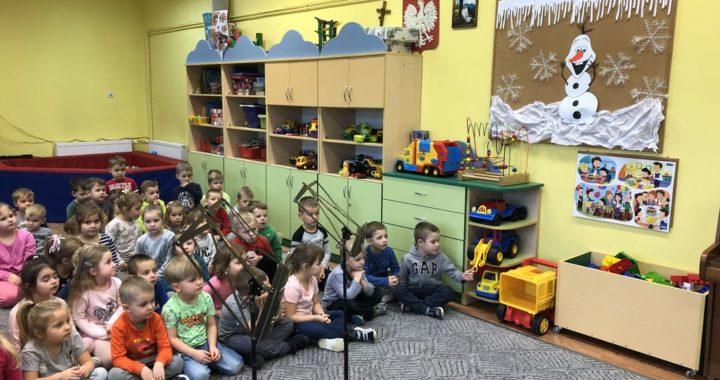 Audycje muzyczne dla przedszkolaków w Sokołowie Małopolskim – 10.01.2020