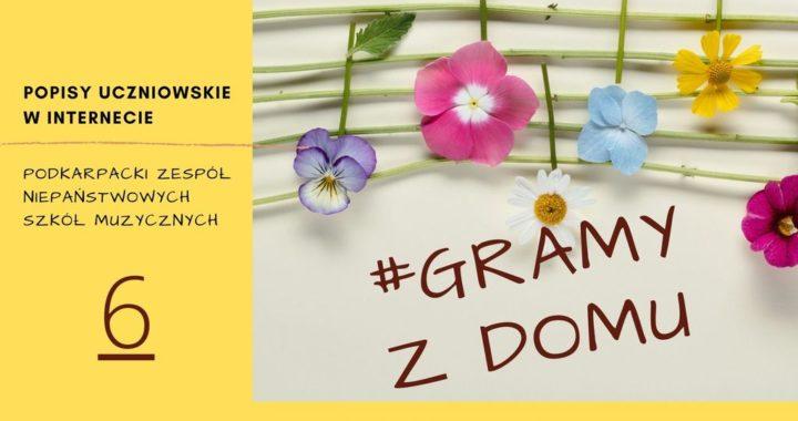 #GRAMY Z DOMU NR 6 – Popisy Uczniowskie Online