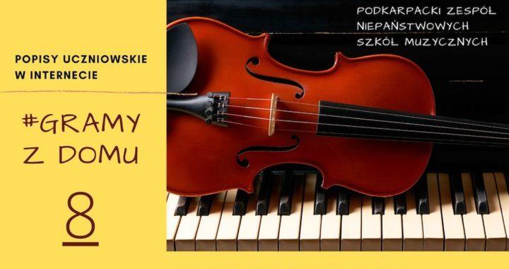 #GRAMY Z DOMU NR 8 – Popisy Uczniowskie Online
