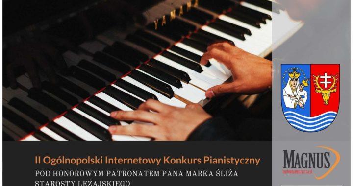 ESTRADA LAUREATÓW – II Ogólnopolski Internetowy Konkurs Pianistyczny Pod Patronatem Marka Śliża Starosty Leżajskiego
