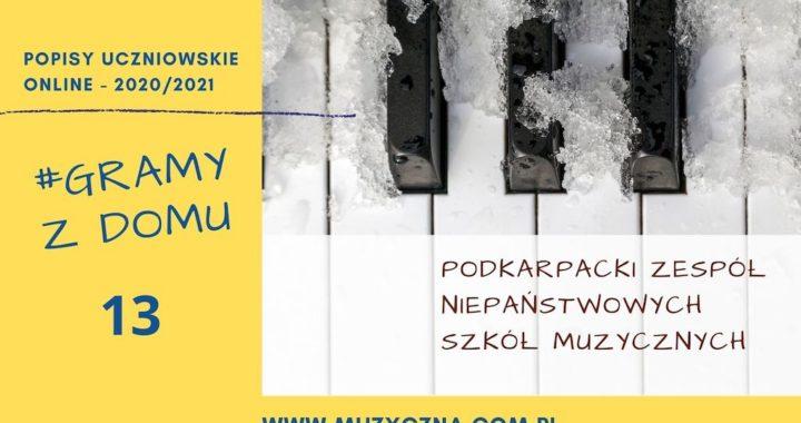 #GRAMY Z DOMU NR 13 – Popisy Uczniowskie Online