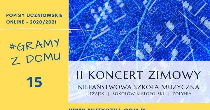 II Koncert Zimowy uczniów NSM I i II st. w Leżajsku, w Sokołowie Małopolskim i w Żołyni