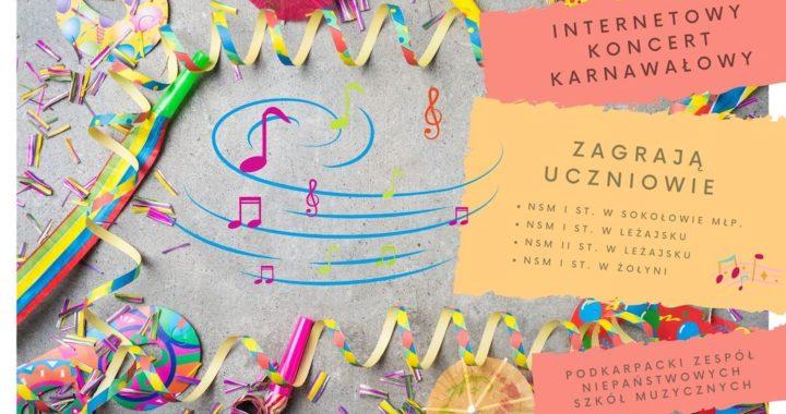 Internetowy Koncert Karnawałowy PZNSM